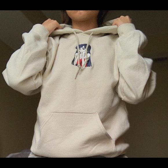 Hoodiesbyrobbie Sweaters - Sailor Mars aesthetic hoodie